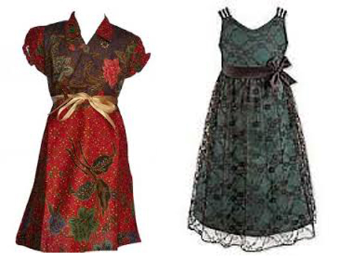 Model Baju Batik Anak Perempuan untuk Acara Pesta dan Keluarga ... 2270d9e13f