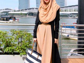 Model Baju Muslim Atasan