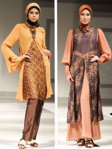 model baju batik wanita